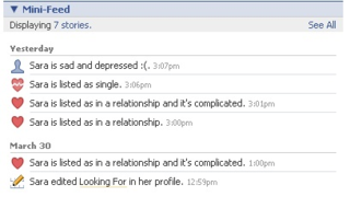 Relationship update