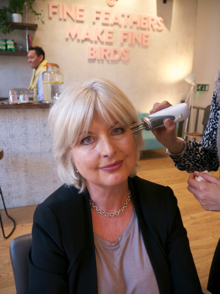 Jane Felstead having CACI Treatment 2