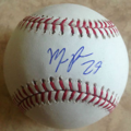 Maikel Franco autographed ball