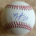 Maikel Franco autographed ball