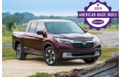 2019 Honda Ridgeline Is Cars.com's Most American-Made Truck