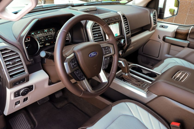 2019 Ford F-150 Limited Steering Wheel