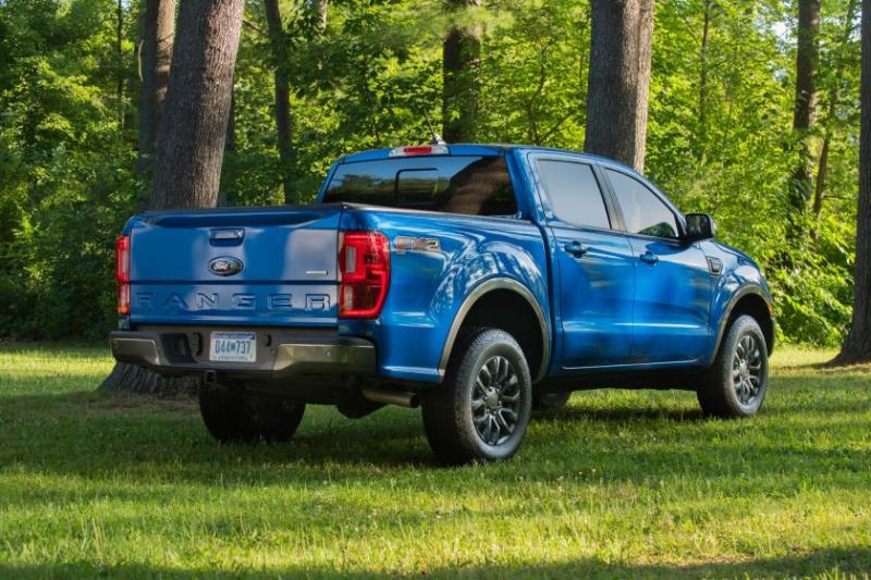 2019 Ford Ranger Rear Profile