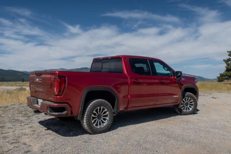 2020 GMC Sierra 1500 Side Profile