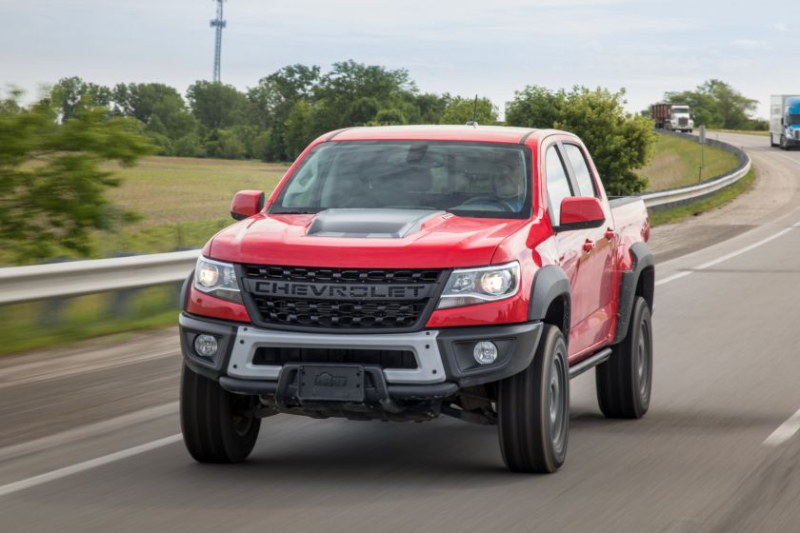 2019 Chevrolet Colorado ZR2 Bison On The Street