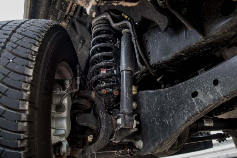 2019 Ford F-250 Limited FX4 Suspension