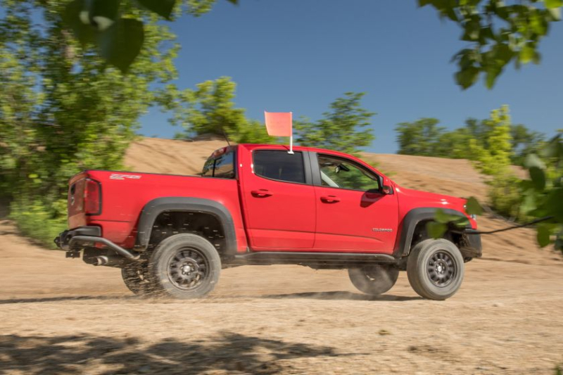 2019 Chevrolet Colorado ZR2 Bison Exterior In Sand