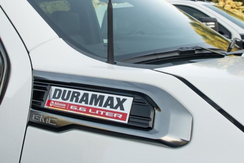 2020 GMC Sierra 2500 Duramax Badge
