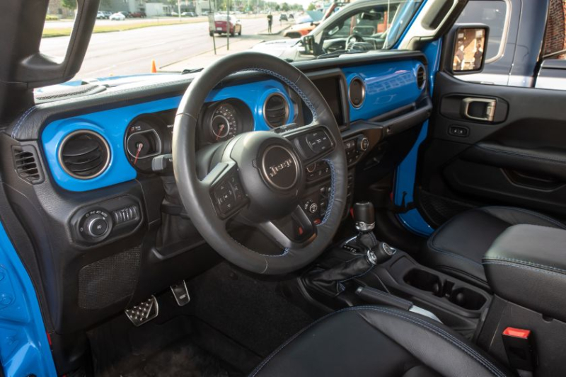 Jeep J6 Concept Steering Wheel And Dashboard