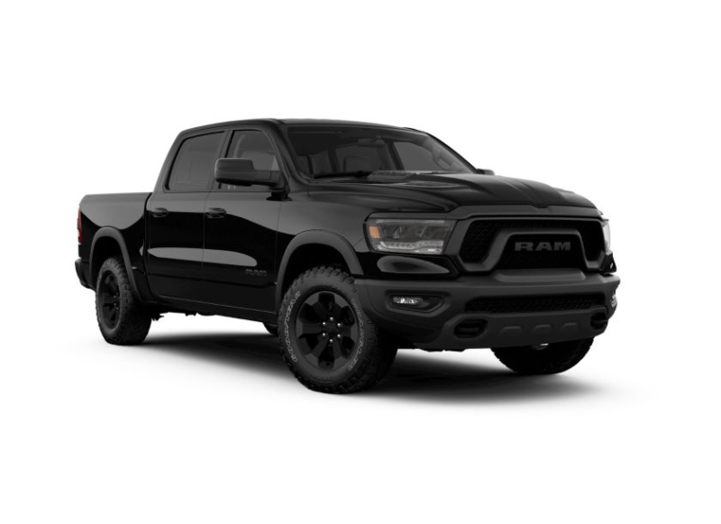 2020 Ram 1500 Rebel Black Appearance Group