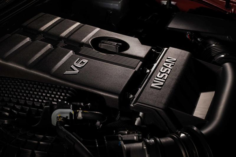 2020 Nissan Titan 3.8-Liter V-6 Engine
