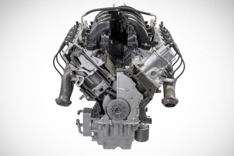 2020 Ford Super Duty 7.3-liter gas V-8 engine