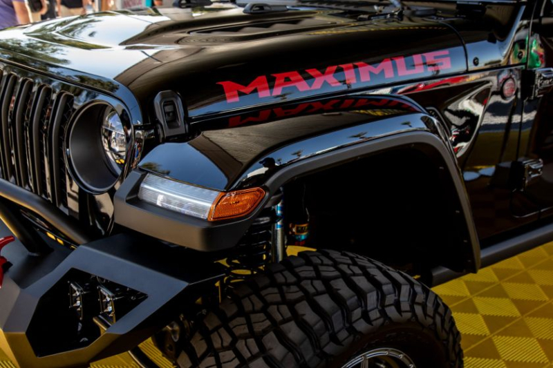 Jeep Gladiator Hennessey Maximus 1000 Front Corner
