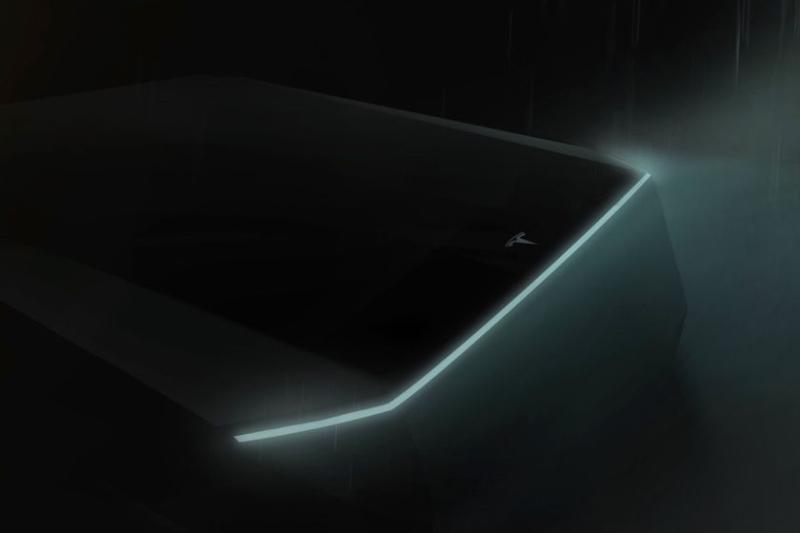 Tesla Cybertruck Teaser Photo