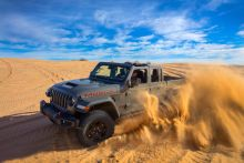 2020 Jeep Gladiator Mojave Is Your Desert-Running Jeep Pickup