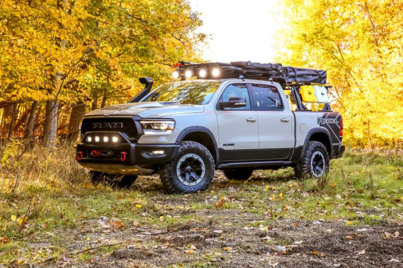 2020 Ram 1500 Rebel OTG Concept Side Profile