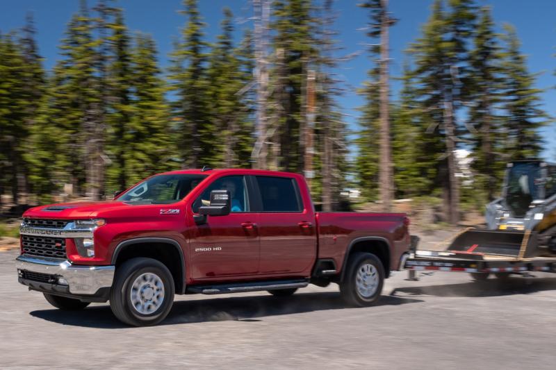 2020 Chevrolet Silverado 2500 Towing