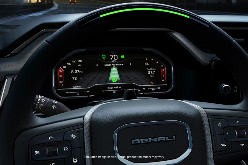 Super Cruise Display for 2022 GMC Sierra 1500 Denali