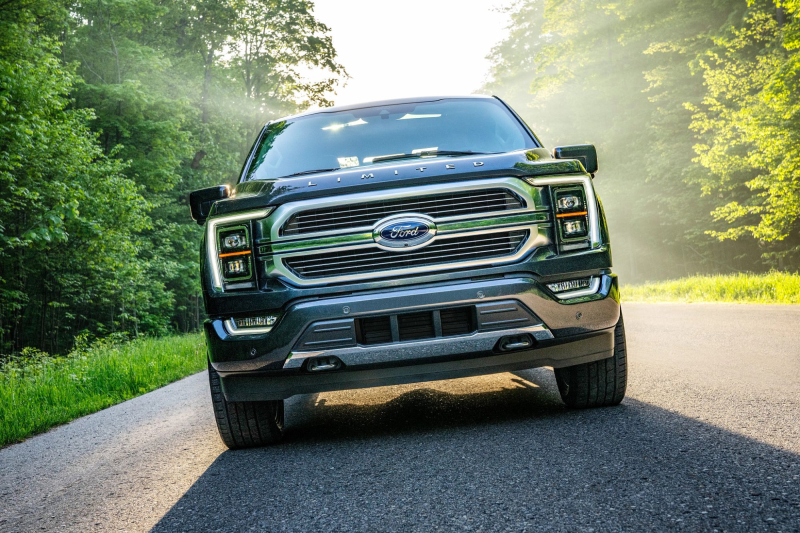 2021 Ford F-150 Front Profile
