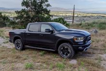 Testing the 2020 Ram 1500 Rebel Diesel's MPG With and Without a Trailer