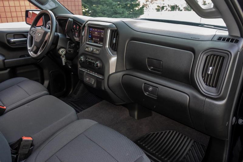 2020 Chevrolet Silverado 1500 Custom Trail Boss Dashboard