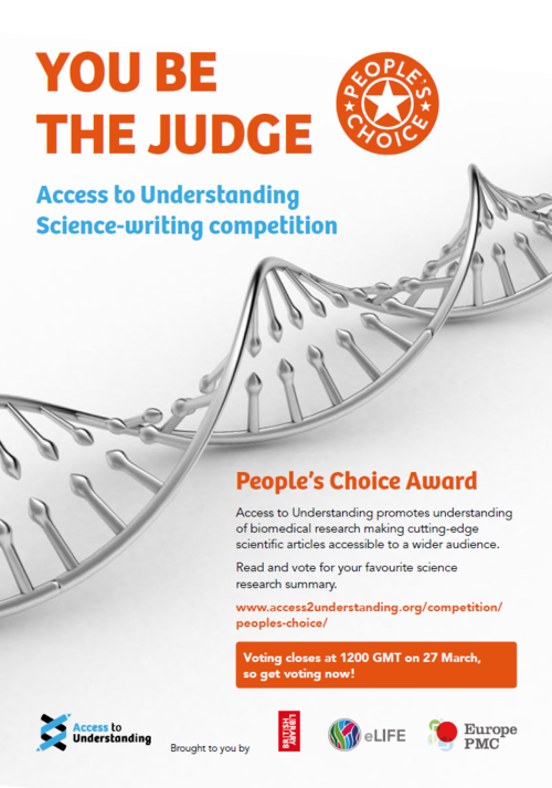 Click here to read and vote for the People's Choice Award