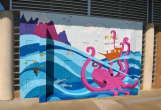 Octopus wall full small