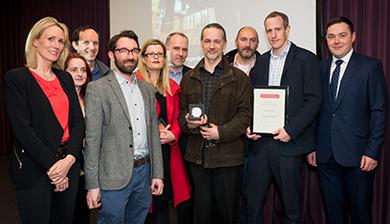 Kawneer sponsors prestigious Edinburgh architectural award