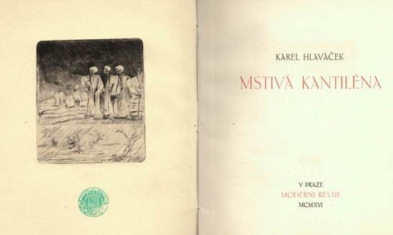 Hlavacek Mstiva Kantilena X989-8471