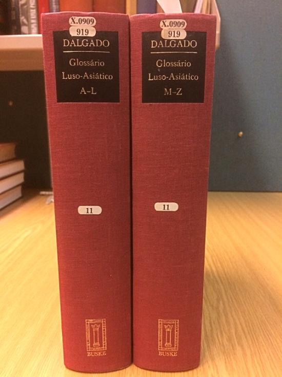 Glossario Luso-Asiatico X.0909-919