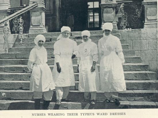 V Typhus Nurses