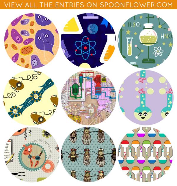 vote for science fair designs spoonflower blog