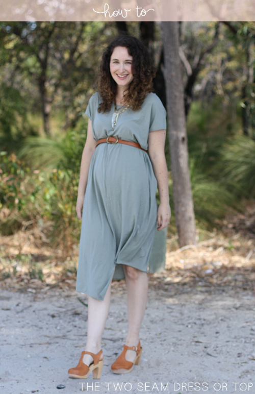 How-to-sew-a-two-seam-dress