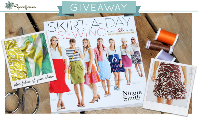 Win a copy of Skirt-A-Day Sewing!