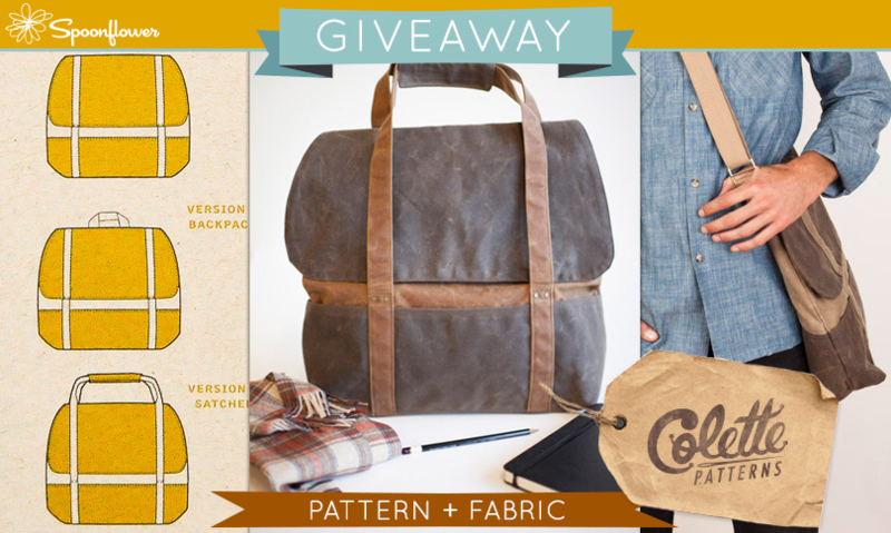 Win a Colette Pattern + Fabric!