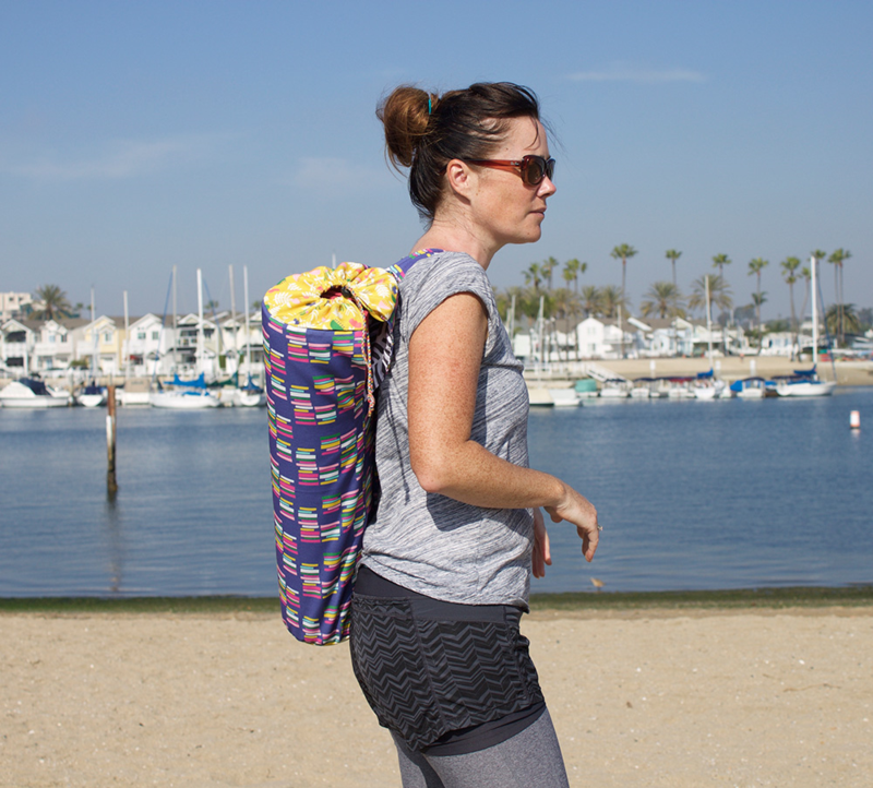 Custom yoga mat bag