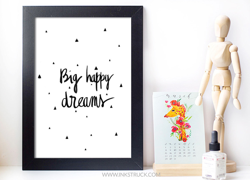 Free printable office decor
