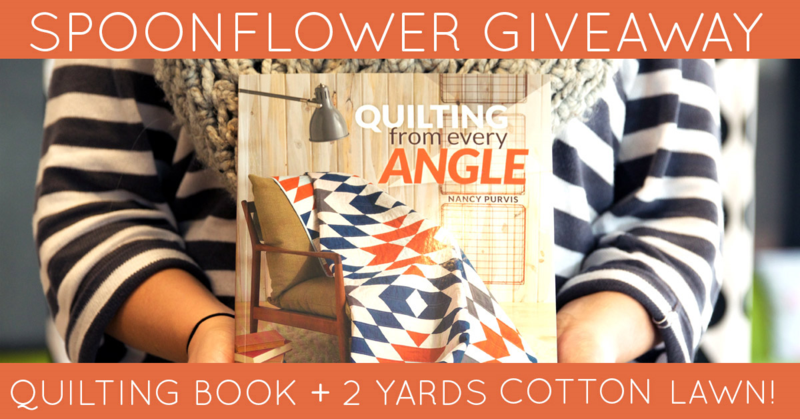 Win a quilting book + Cotton Lawn