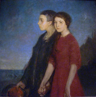 596px-Charles_W._Hawthorne_-_Young_man_and_woman