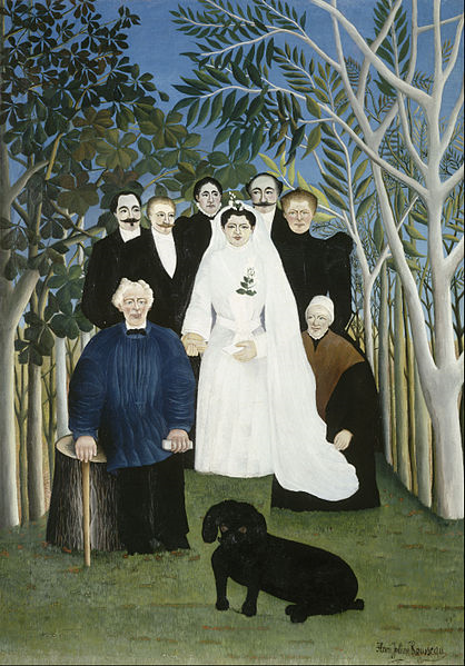 418px-Henri_Rousseau,_dit_le_Douanier_-_The_Wedding_Party_-_Google_Art_Project