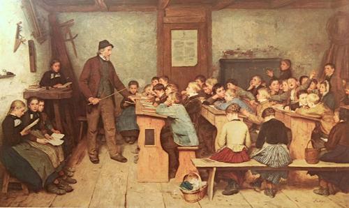 800px-Anker_Die_Dorfschule_von_1848_1896