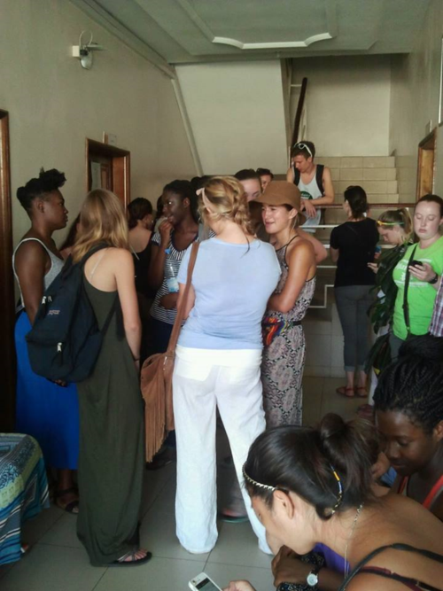 Fall 2014, Orientation to navigate in Senegal