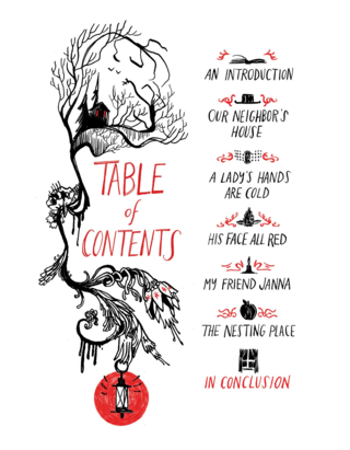 Through the woods table of contents