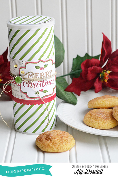 Christmas Cookie Tube by Aly Dosdall 1