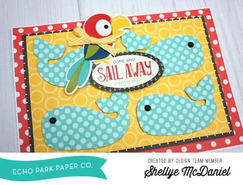 """Pirates Life Card Set by Shellye McDaniel featuring the """"Pirate's Life"""" Collection and designer stamps & dies by #EchoParkPaper"""