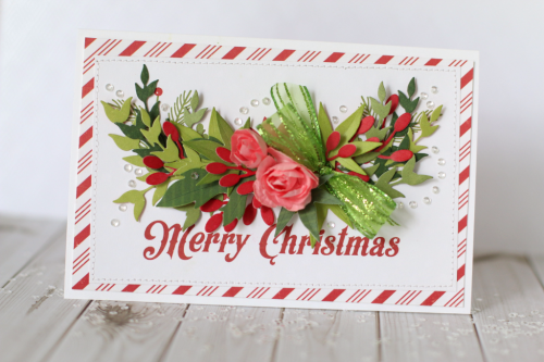 """""""A Week of Christmas Cards"""" Day 3 - Christmas Cards by Anya Lunchenko with the """"I Love Christmas"""" Collection and Designer Dies by #EchoParkPaper"""