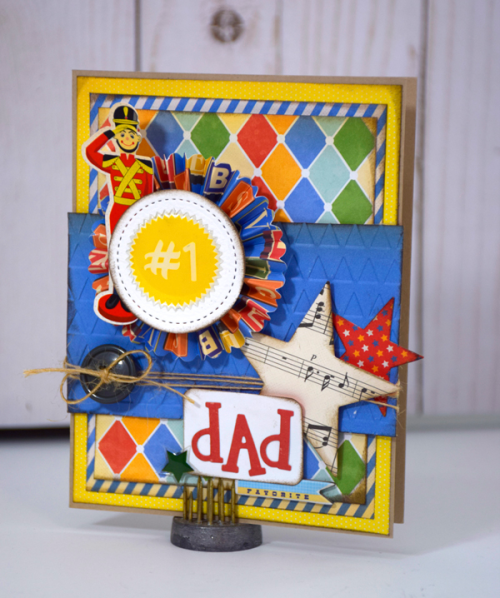 Father's Day Card by Tya Smith for #EchoParkPaper and #CartaBellaPaper