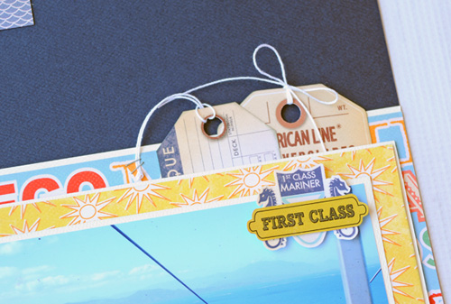 "Set Sail Layout by Jana Eubank with the ""Let's Cruise"" collection by #CartaBellaPaper"