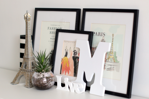"""""""Metropoiltan Girl"""" Art Prints by #CartaBellaPaper, styled by Anya Lunchenko"""