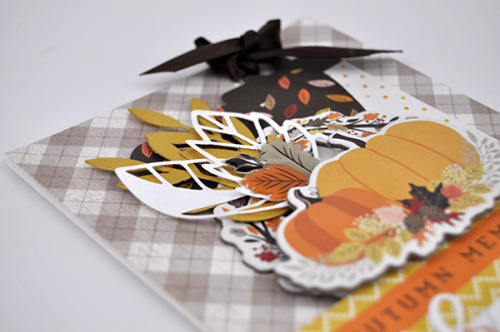 "Autumn Memories Thanks Card by Jen Gallacher with the ""Hello Fall"" collection by #CartaBellaPaper"